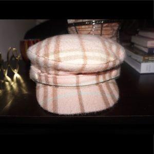f028a6b6fa2 Women s Pink Burberry Hat on Poshmark